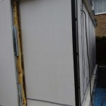 13 Day 3 Cavity Insulation and Outer Panel Applied