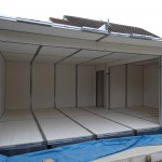 8 Day 1 Completed Internal Panel Skin Including Roof