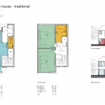 A 2 bed plan traditional