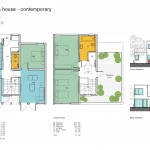 A 3 bed plan contemporary