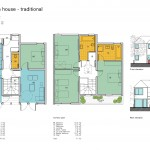 A 4 bed plan traditional