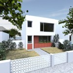 F 2 bed front render